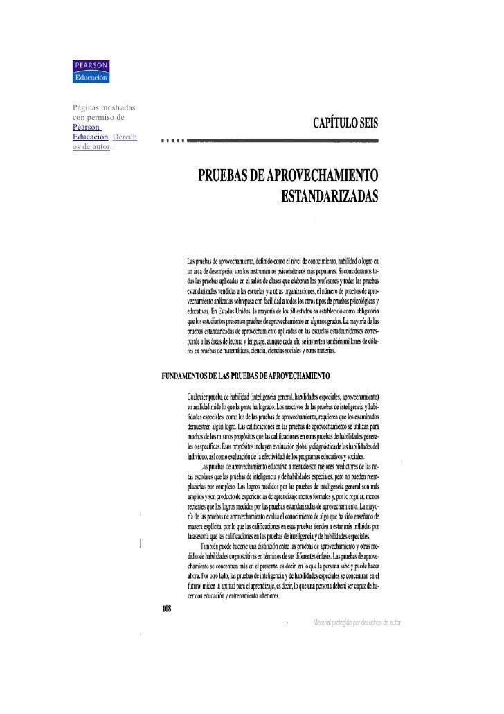 Páginas mostradas con permiso de Pearson Educación. Derech os de autor.