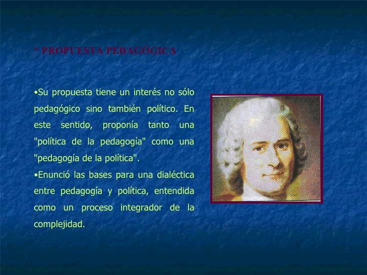 MaestríA Diversidad DidáCtica Juan Jacobo Rousseau Slide 3