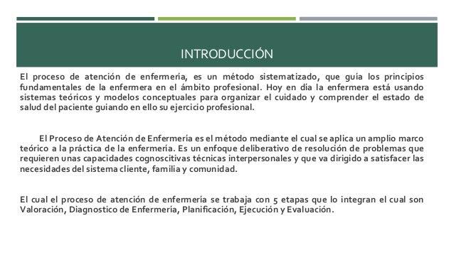 Importancia de la aplicaci n del proceso enfermero en la for Que es practica de oficina