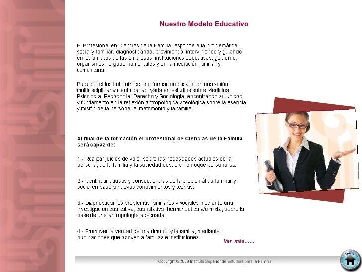 Nuestro Modelo Educativo  Ver  más……