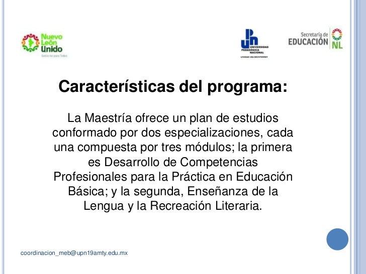 Maestría En Educación Básica Upn Monterrey