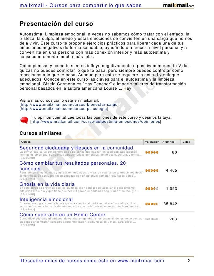 Maestria Autoestima Limpieza Emocional 21744 Slide 2
