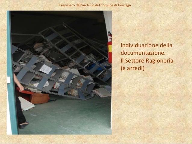 Archivi terremoto mn franca maestrini archivio di stato for Gonzaga arredi