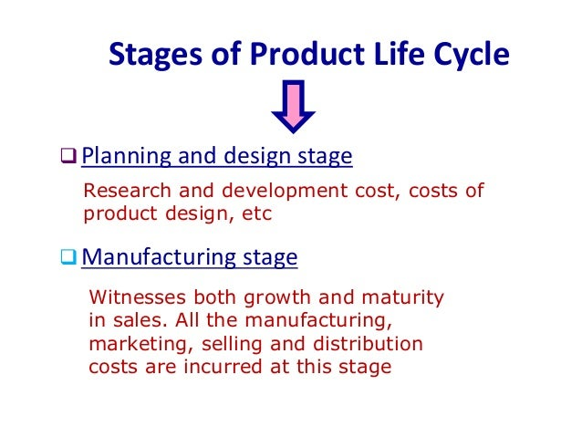 product life cycle costing pdf