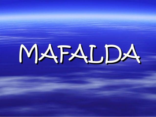 MAFALDAMAFALDA