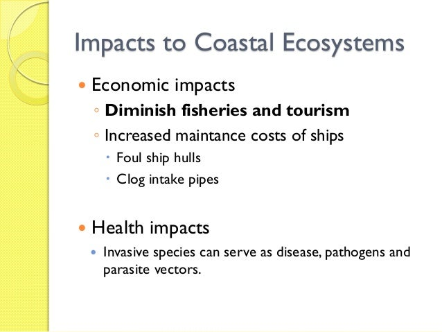 Invasive species causes and effects