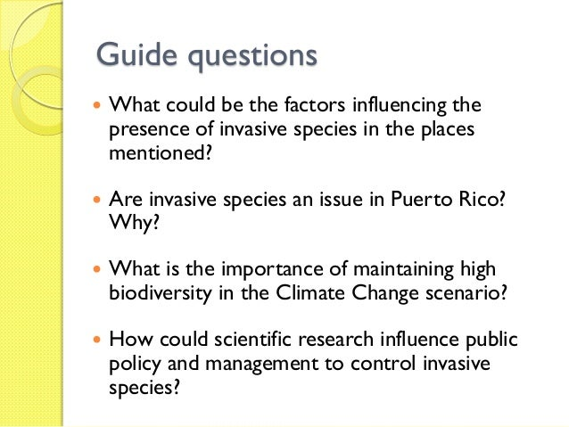 the impact of invasive species in an ecosystem Biogeomorphic impacts of invasive species annual review of ecology,  evolution, and systematics vol 45:69-87 (volume publication date november  2014.