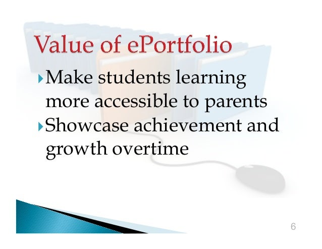 Make  students learning more accessible to parents Showcase achievement and growth overtime  6