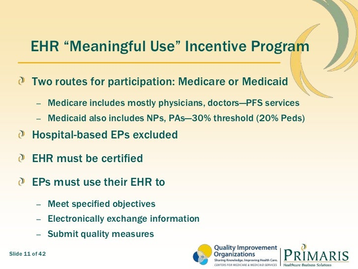MAFP Quality Reporting for Cash-CMS Incentives and Your ...