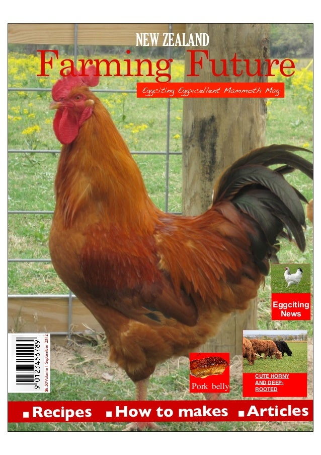 NEW ZEALAND Eggciting Eggxcellent Mammoth Mag  $6.50 Volume 1 September 2012  Eggciting News  ■  Recipes  CUTE HORNY AND D...