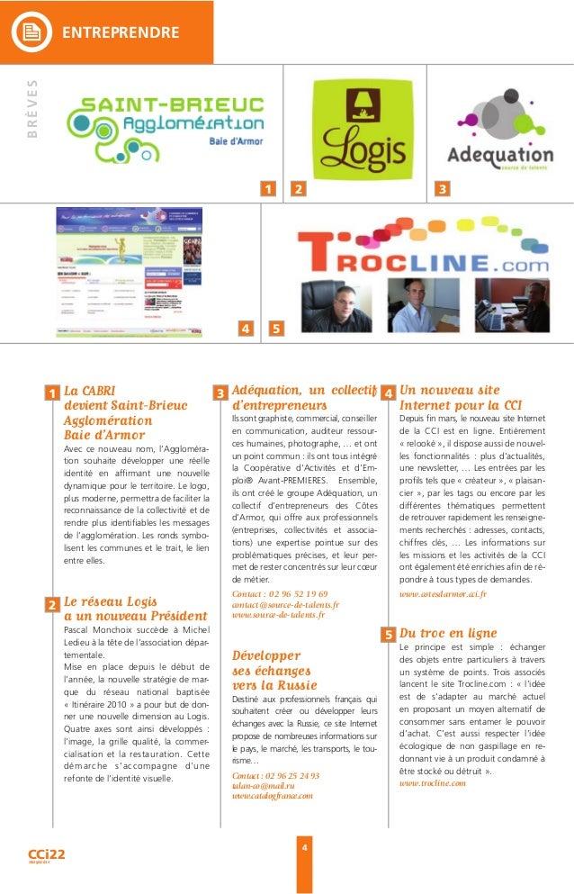 5 ENTREPRENDRE 7 8 6 6 Dans le cadre d'une recherche perma- nente de la qualité et de la satisfaction de sa clientèle, l'h...