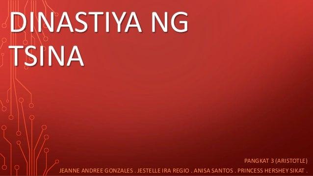 Dinastiya ng Tsina ( Pangkat 3 ) 7-Aristotle  Slide 2