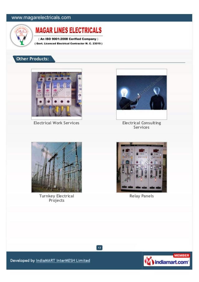 Magar Lines Electricals Pune Electrical Contracts