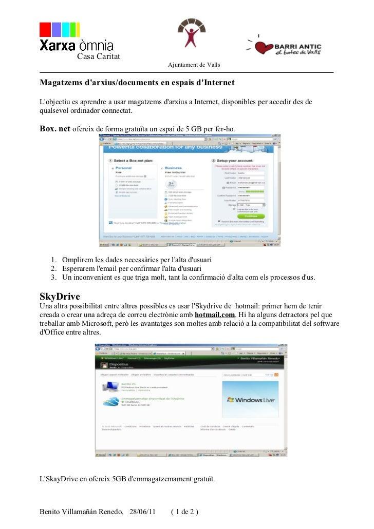 Casa Caritat                                          Ajuntament de VallsMagatzems darxius/documents en espais dInternetLo...