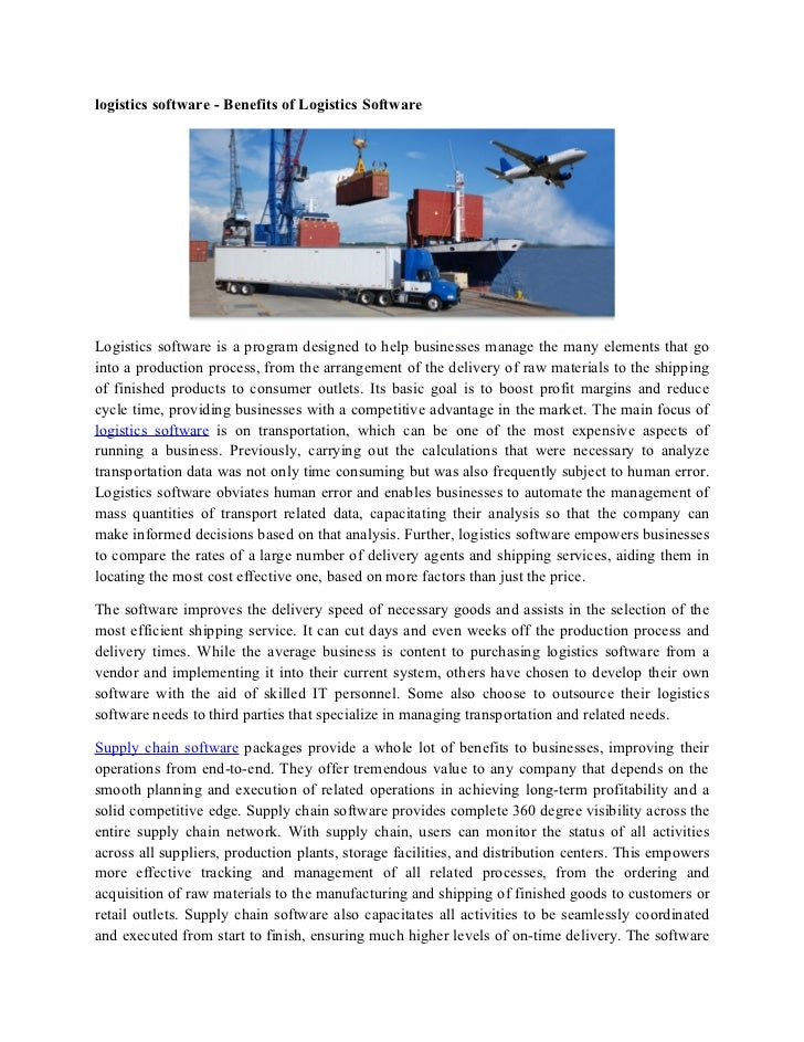 study of profitability of a logistics Full-text (pdf) | this research studies the impact of two reverse logistics business strategies on profitability of the firm through operations management (om) the study is employed on scrap steel industry.