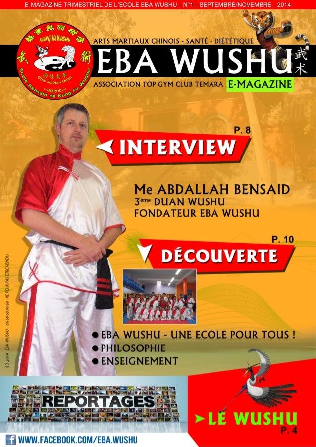 Magazine EBA WUSHU - Me BENSAID ABDALLAH