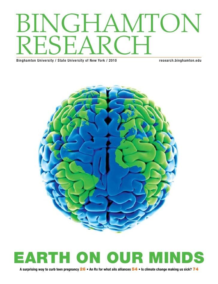 Binghamton ReseaRch Binghamton University / State University of New York / 2010                                research.bi...