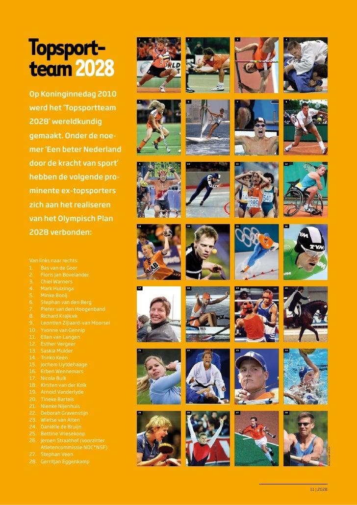 Topsport                                   1    2    3    4team 2028Op Koninginnedag 2010                                ...