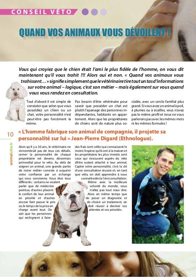 «L'homme fabrique son animal de compagnie, il projette sa personnalité sur lui» Jean-Pierre Digard (Ethnologue). Tout d'...
