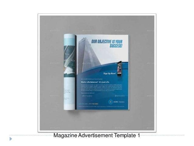 Magazine Advertisement Template Sanlife