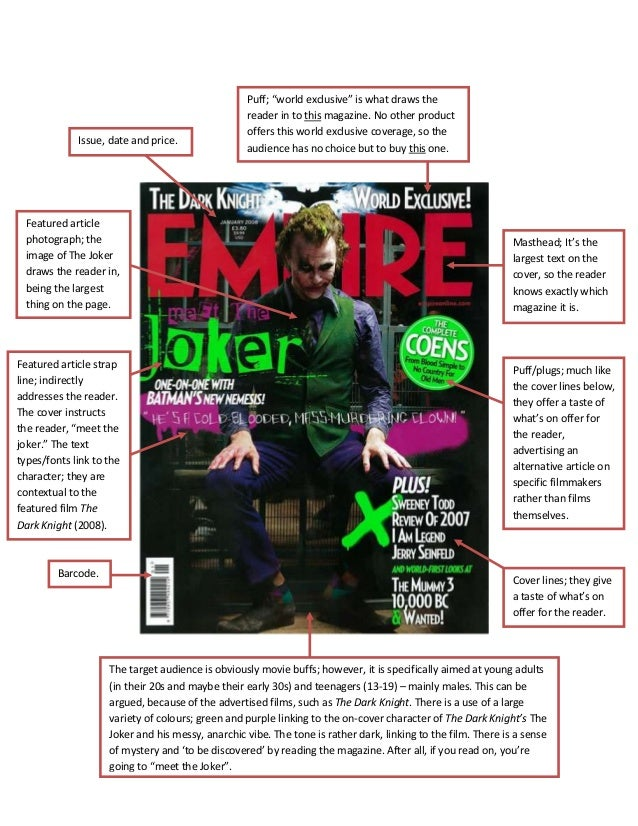 """Issue, date and price.Puff; """"world exclusive"""" is what draws thereader in to this magazine. No other productoffers this wor..."""