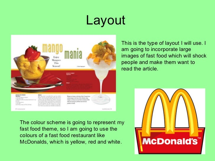 Magazine article powerpoint for Articles cuisine