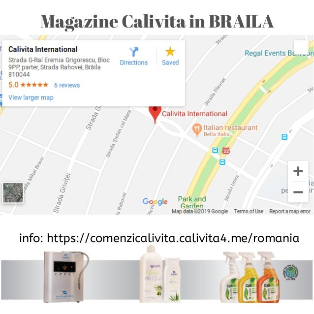 Magazine Calivita in BRAILA info: https://comenzicalivita.calivita4.me/romania