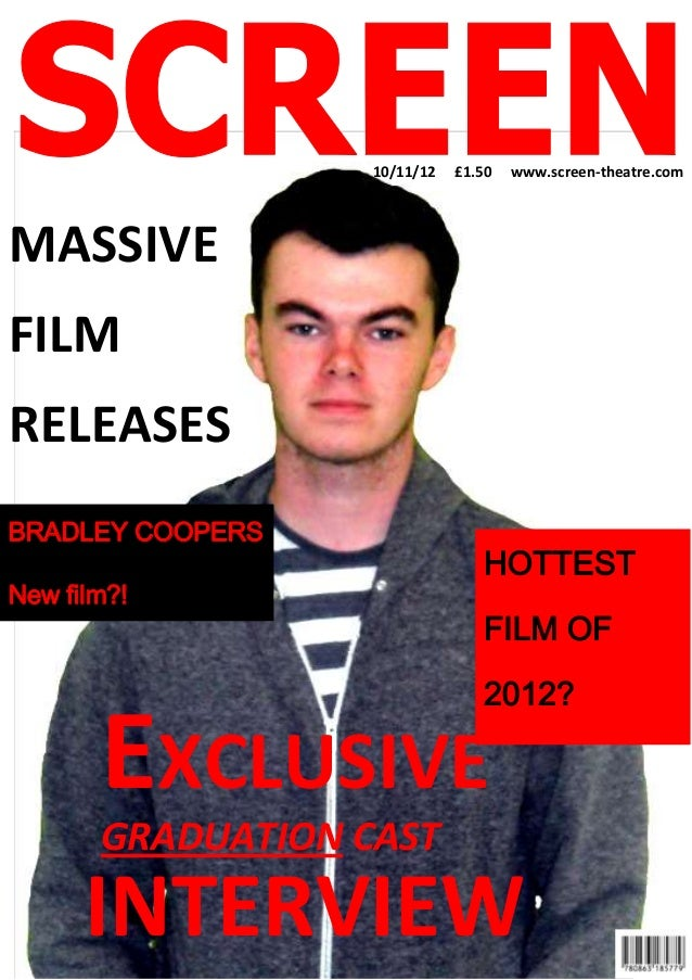 10/11/12   £1.50   www.screen-theatre.comMASSIVEFILMRELEASESBRADLEY COOPERS                                 HOTTESTNew fil...