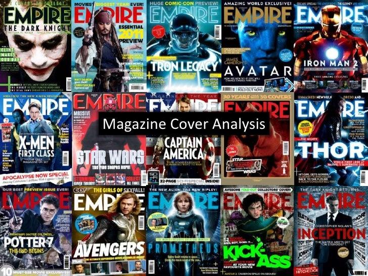 Magazine Cover Analysis