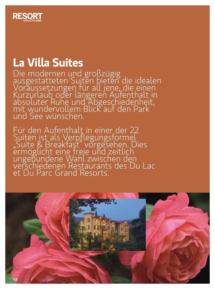 Magazine 2010 - Du Lac et Du Parc Grand Resort di Riva del Garda