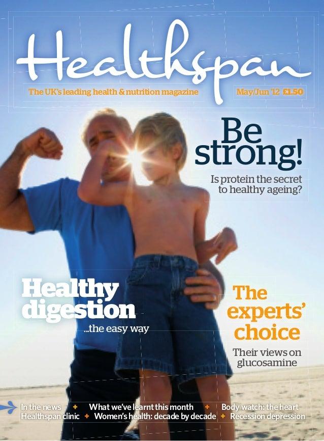 The UK's leading health & nutrition magazine          May/Jun '12 £1.50                                               Be  ...