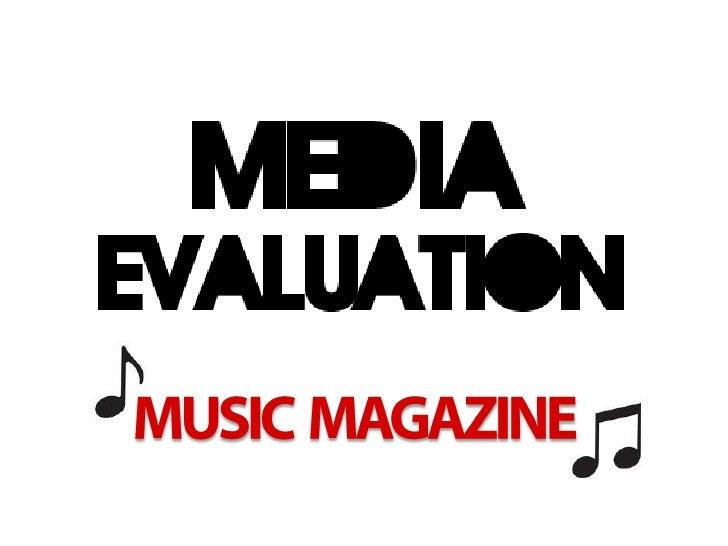 MUSIC  MAGAZINE<br />