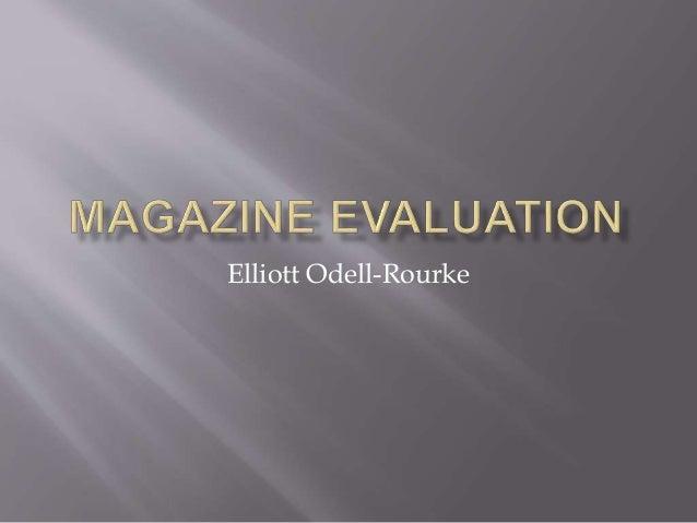 Elliott Odell-Rourke