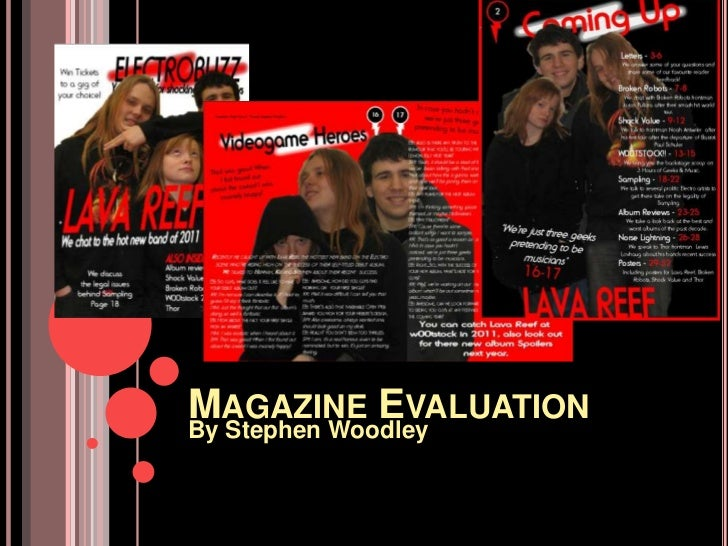 Magazine Evaluation<br />By Stephen Woodley<br />