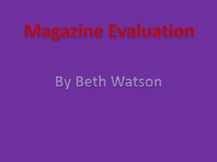 1. In what ways does yourmagazine use, develop orchallenge forms and conventionsof real media products?