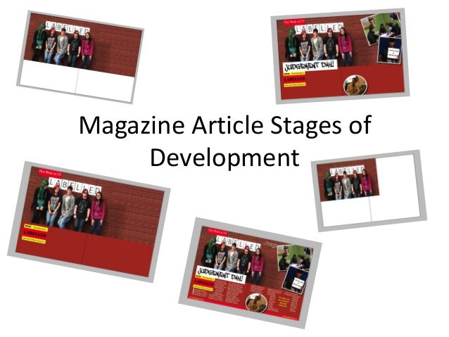 Magazine Article Stages of     Development