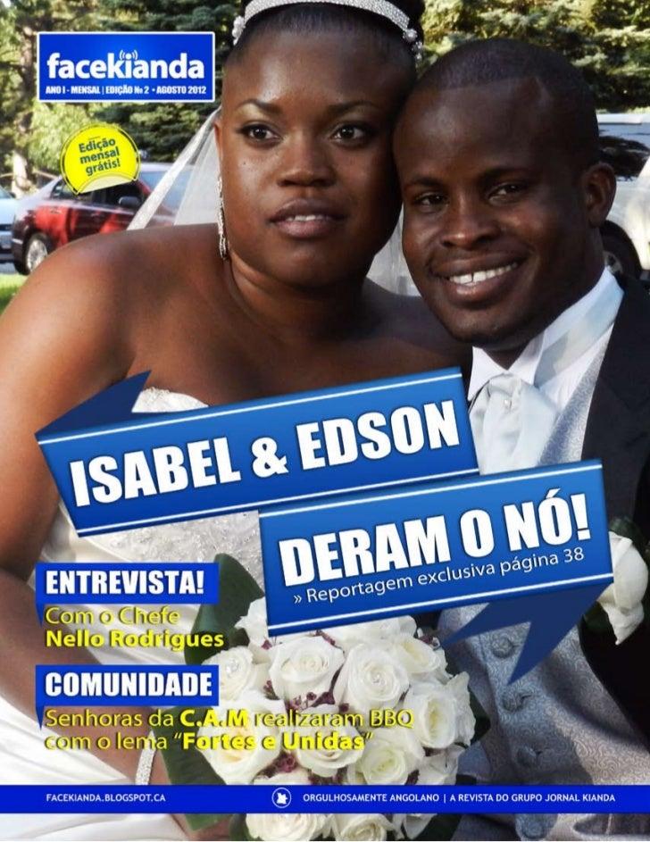 foto: conhecimento made in angola          foto do mês                                        eu amo Angola, pois nossa sa...