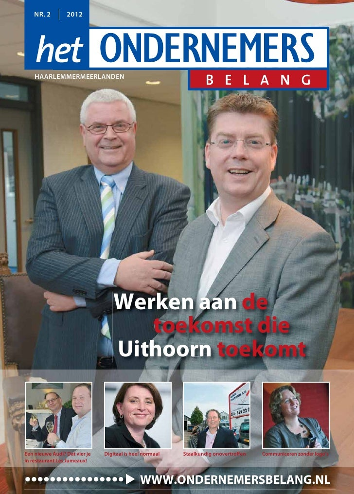 NR. 2        2012    HAARLEMMERMEERLANDEN                                   Werken aan de                                 ...