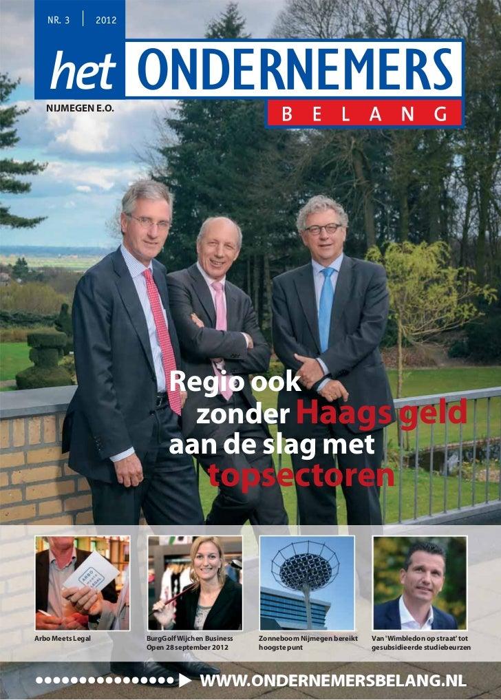 NR. 3           2012   NIJMEGEN E.O.                                Regio ook                                  zonder Haag...