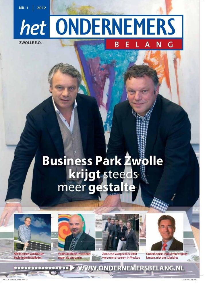 NR. 1         2012    ZWOLLE E.O.                      Business Park Zwolle                          krijgt steeds        ...