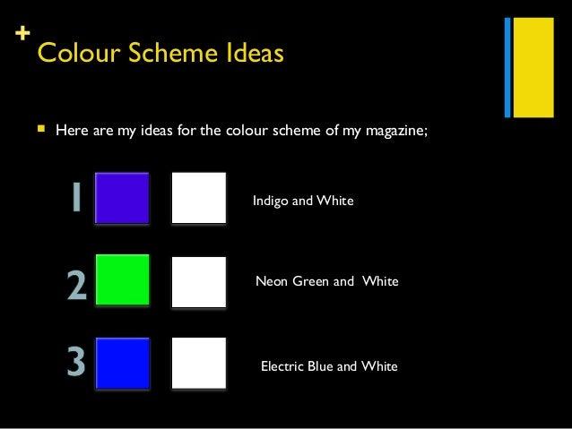 3 Colour Scheme Ideas