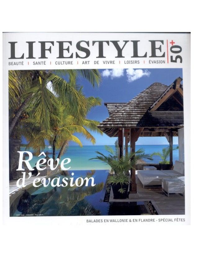 Magazine life style 50 + Royal Palm Maurice