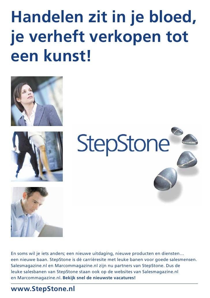 MarComMagazine September 2010  Stepstone Nl Banen