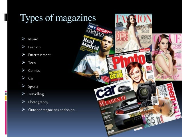 types of magazines Top 10 editor's choice sports magazines and complete list of sports magazines.