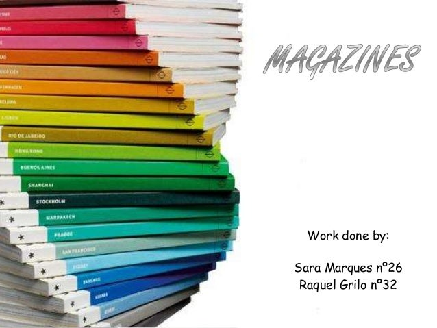 Work done by: Sara Marques nº26 Raquel Grilo nº32