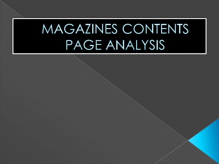an analysis of magazines Singapore's magazine and digital media industry an analysis of key market  forces and competitive dynamics - dr tan kwan hong - textbook.