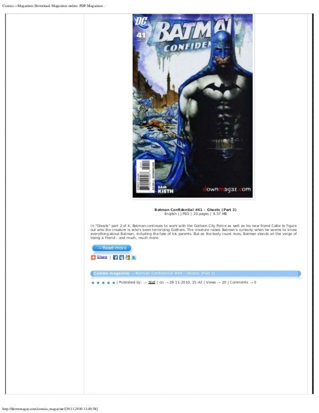 Pdf Comics Magazines