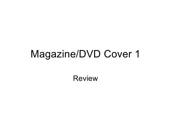 Magazine/DVD Cover 1 Review