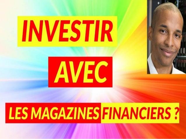 Investir en immobilier en utilisant les magazines financiers ? www.mycatisrich.fr BIENVENUE !!!