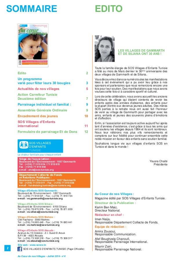 Magazine sos villages d'enfants n ¦4 Slide 2